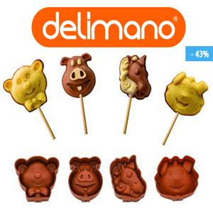 Forme din silicon pentru prajituri Delimano