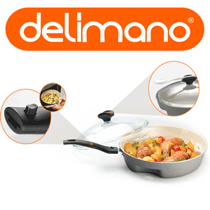 Noua tehnologia Dry Cooker - Delimano Ceramica Trilogy