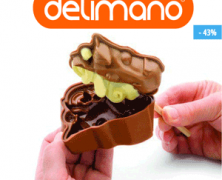 Forme pentru prajituri Delimano My Cute din silicon