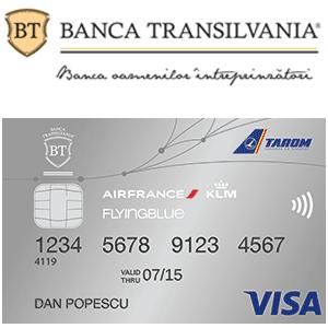 Ce este si cum functioneaza Cardul Banca Transilvania Flying Blue?