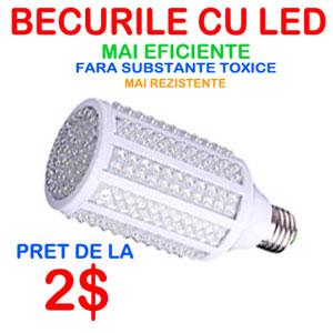 Cele mai ieftine BECURI cu LED. Mai abordabile