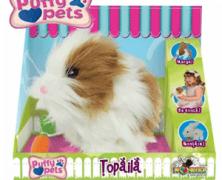 Puffy Pets Hamsterul Topaila din plus la Noriel