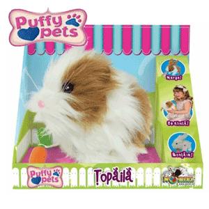 vezi la BestKidsJucarie din plus Hamsterul Topaila Puffy Pets in oferta