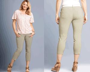 Pantaloni modelatori 7/8 pana la glezna pentru femei