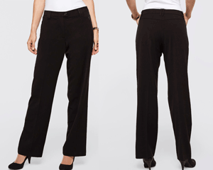 Pantaloni office dama efect modelator