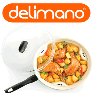Noua tigaie Dry Cooker - Delimano Ceramica Trilogy