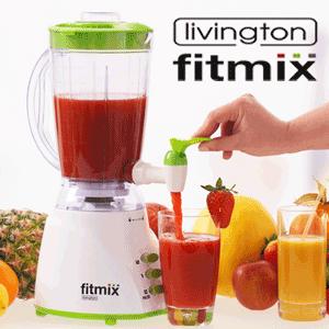 Blender Multifunctional FitMix prepara sucuri, piureuri, cereale, deserturi si inghetate intr-un mod sanatos!
