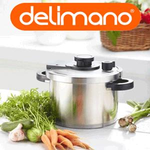 Oala sub presiune Delimano Presto Tempo Pressure Cooker teleshopping