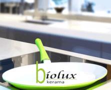 Tigaie ceramica BIOLUX fara teflon pentru peste
