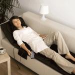 Saltea electrica de masaj profesional cu telecomanda