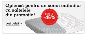 Saltele Superortopedice ieftine in Promotie