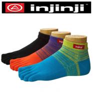 Sosetele cu 5 degete InjiInji Socks pentru sala de fitness, yoga, pilates si alergare