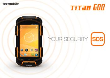 Telefon mobil rezistent Titan 600 TecMobile