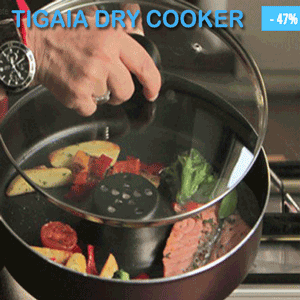 Tigaia Dry Cooker - Originala Teleshopping