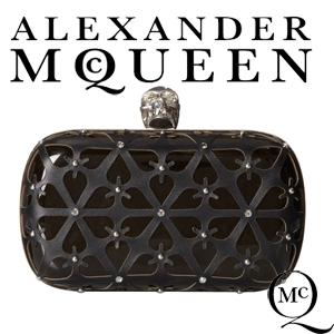 vezi oferta de genti Clutch Alexander McQueen Classic Skull