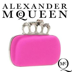 Clutch Alexander McQueen Knuckle Box