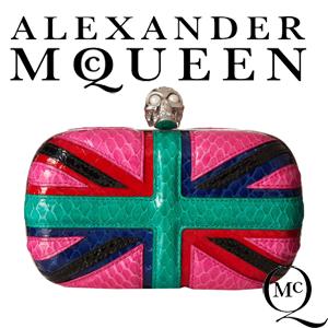 genti de designer Clutch Alexander McQueen