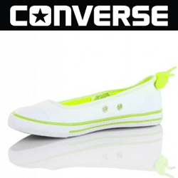 Balerini albi White Neon Converse 537158C la ready to wear