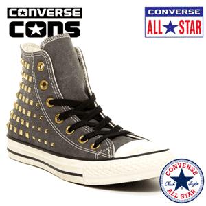 Bascheti cu tinte Converse Collar Stud High Top Sneaker