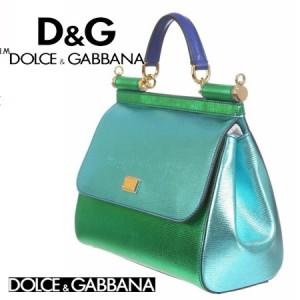 Genti de lux Geanta DOLCE & GABBANA verde-turcoaz dama