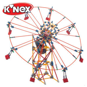 2 Parcuri de distractie tip roata KNEX