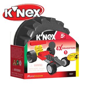 Piese KNEX Seturi de jucarii de constructie Masina de curse Dragsters KNEX