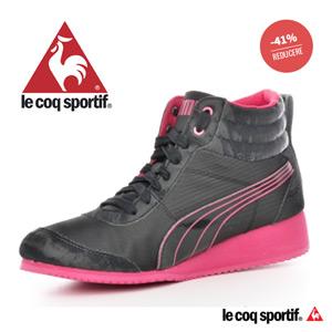 Pantofi sport cu platforma PUMA pentru femei CAROLINE MODERN JR (355190_01 NEGRU )