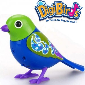 Pasare interactiva DigiBirds Jade
