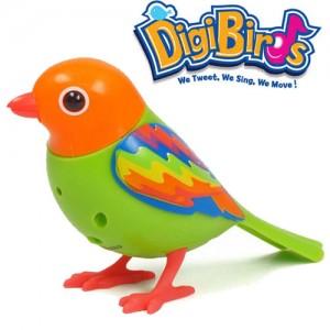 Pasare interactiva Rainbow Digibirds la Nicoro