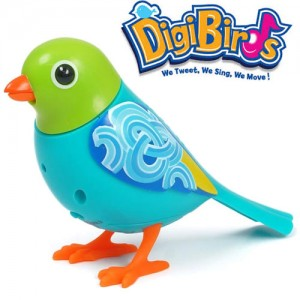 Pasare interactiva DigiBirds Amber