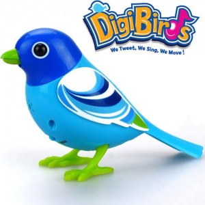 Pasare interactiva DigiBirds Blue