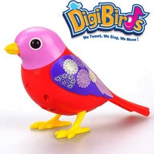 Pasare interactiva DigiBirds Scarlett la Nicoro