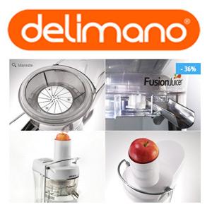 Cel mai mic pret Storcatorul de fructe Delimano Fusion Juicer la unicul reprezentant in Romania