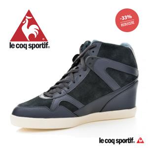 Reduceri de pret la Pantofi sport cu platforma LE COQ SPORTIF pentru femei SEGUR SUEDE (142100_8 GRI )