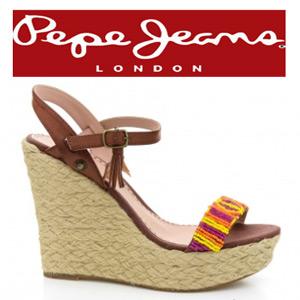 Sandale dama PEPE JEANS cu platforma