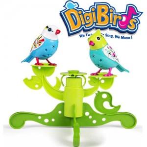 Set stand in forma de copac si doua pasari interactive DigiBirds