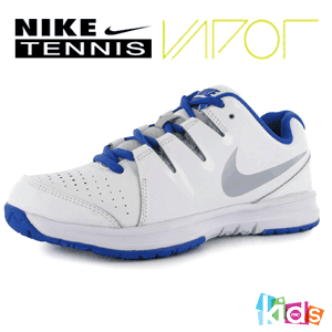 Adidasi copii tenis de camp Nike Vapor Court Junior Shoes