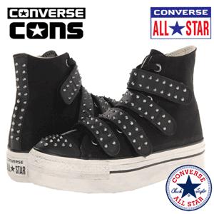 Bascheti cu tinte Converse Chuck Taylor All Star Platform 4V Zip Hi