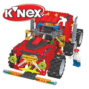 Camion din piese KNEX Jucarii de constructie baieti 5 ani