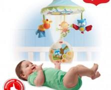 Tiny love Carusel muzical bebe 3 in 1 magia noptii cu proiectie lumini