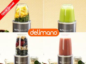 Ce poti toca cu mixerul Delimano NutriBullet?