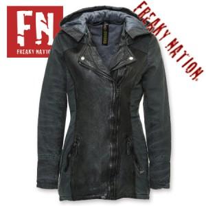 Geaca lunga de Piele femei Freaky Nation Duster Coat