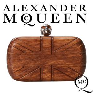 Genti exclusiviste Clutch Alexander McQueen Britania Skull Box