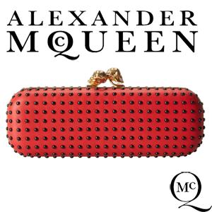 Clutch Alexander McQueen Twin Skull