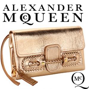 Geanta Clutch Alexander McQueen Folk