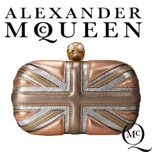 Geanta Clutch Alexander McQueen Britain Flag