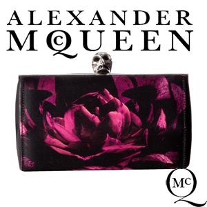 Geanta Clutch Alexander McQueen Faceted Clutch