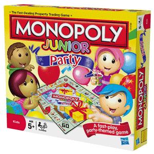 Jocuri pentru copii Monopoly Junior Petrecerea Hasbro