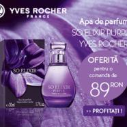 Cadourile primaverii la cosmeticele Yves Rocher 2015