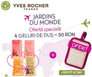 Promotii & Cadouri la Yves Rocher Romania